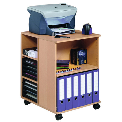 Durable 3113-47 Multimedia kar & stand - Hout