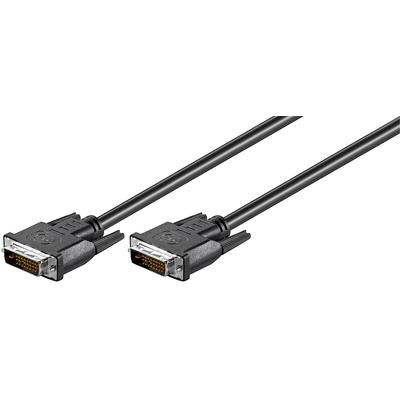 Microconnect DVI-D (DL) 3m DVI kabel  - Zwart