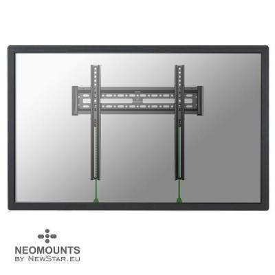 """Newstar montagehaak: De NM-W340BLACK is een vlakke wandsteun voor flat screens t/m 52"""" (130 cm) - Zwart"""