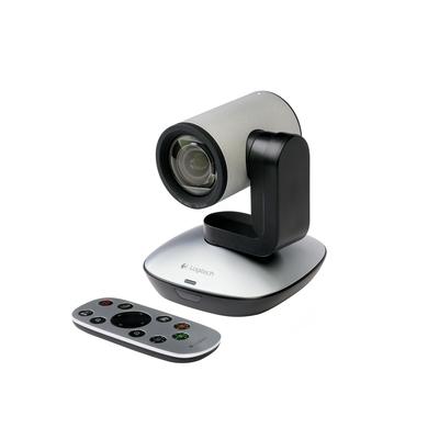 Logitech webcam: PTZ Pro Camera - Zwart, Grijs