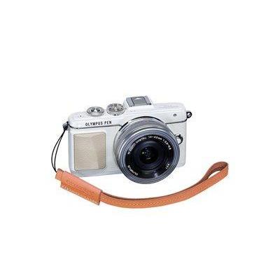 Olympus camera riem: E0410191 - Bruin