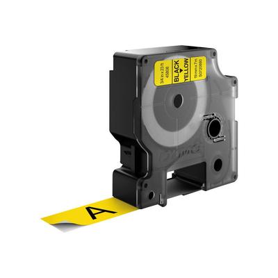 DYMO D1 Standard - Black on Yellow - 19mm Labelprinter tape