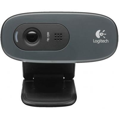 Logitech HD C270 Webcam - Zwart