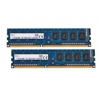 Hynix 4GB, DDR3L, SDRAM, DIMM, 1600MHz, ECC, Unbuffered, 1.35V RAM-geheugen - Blauw