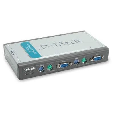 D-link KVM switch: Pro Connect Switch Box Chassis 4sl