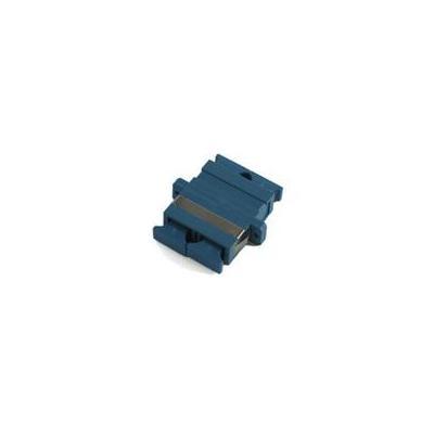 Microconnect fiber optic adapter: FISCSCSM, SC to SC, Duplex - Blauw