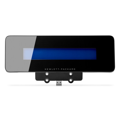 Hp paal display: Retail geïntegreerd 2x20 complex - Zwart
