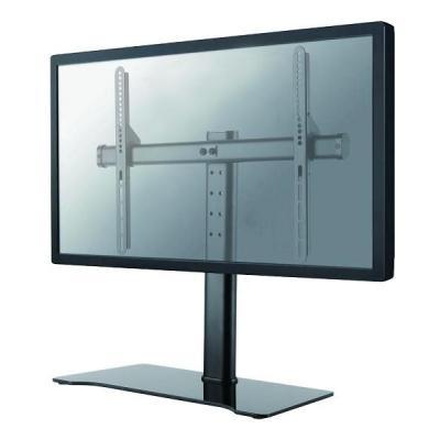 "Newstar monitorarm: TV/Monitor Desk Stand for 32-60"" Screen, Height Adjustable - Black - Zwart"