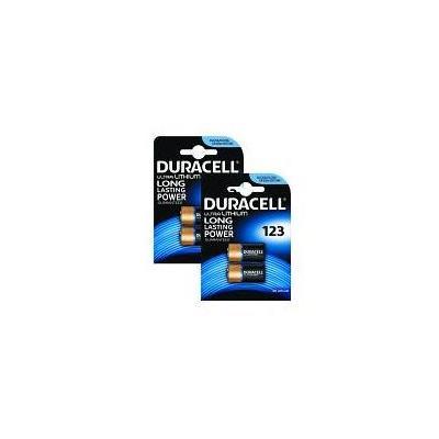 Duracell batterij: Ultra Lithium 2 Pack x 2 - Zwart, Brons