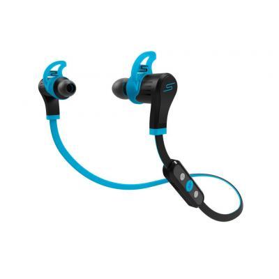 Sms audio koptelefoon: In-Ear Wireless Sport Headphone - Zwart, Blauw