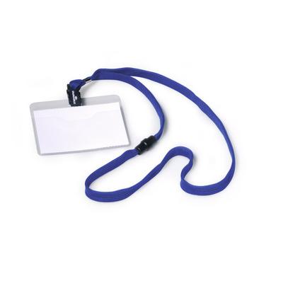 Durable NULL Badge - Blauw, Transparant