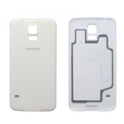Samsung mobile phone spare part: Cover Assembly Battery, white