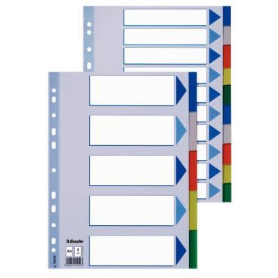 Esselte indextab: Plastic tabs, A4