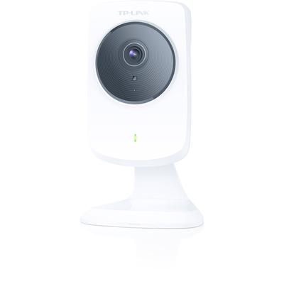 """Tp-link beveiligingscamera: 1/4""""-CMOS-Sensor, HDTV 1280 x 720, H.264, LAN, WLAN - Wit"""
