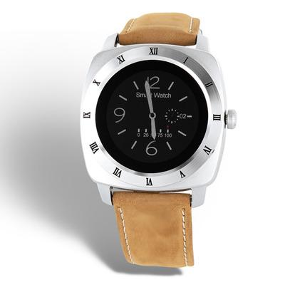 Xlyne smartwatch: Nara XW Pro - Beige, Zilver