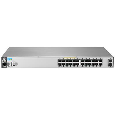 Hewlett Packard Enterprise Aruba 2530 24G PoE+ 2SFP+ Switch - Grijs
