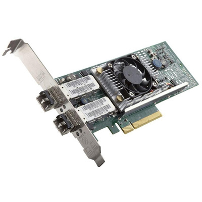 DELL Broadcom 57810 DP 10Gb BT Converged Network Adapter Low Profile Netwerkkaart - Groen