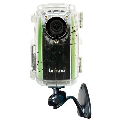 Brinno time lapse camera: TLC200 f1.2, 1.3MP, CMOS, 1280x 720, SD + ATH110 + AWM100 - Zwart, Groen