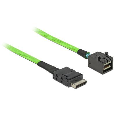 DeLOCK 85210 Signaal kabel - Zwart, Groen