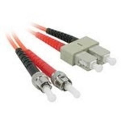 C2G 5m ST/SC LSZH Duplex 62.5/125 Multimode Fibre Patch Cable Fiber optic kabel