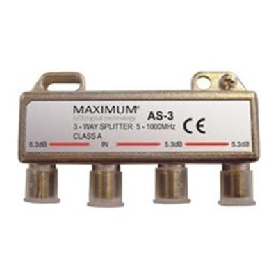 Digiality kabel splitter of combiner: Antenna AS-3 splitter 5-1000 MHz