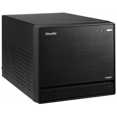 "Shuttle barebone: LGA 1151, Intel Z170, max. 4 x 16GB DDR4 2133MHz, 4 x 3.5"" SSD/HDD, 2 x Gigabit LAN, 500W - Zwart"