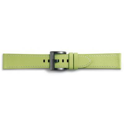 Samsung horloge-band: Classic Leather - Groen