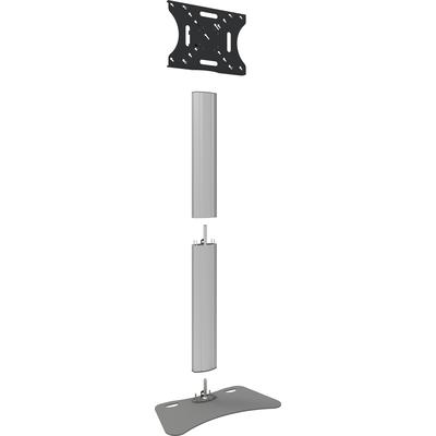"""SmartMetals Deelbaar statief max. 65"""" incl. bracket max. VESA 600-400 Monitorarm - Aluminium, Grijs"""