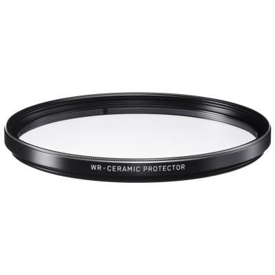 Sigma camera filter: 77mm WR Ceramic Protector - Zwart