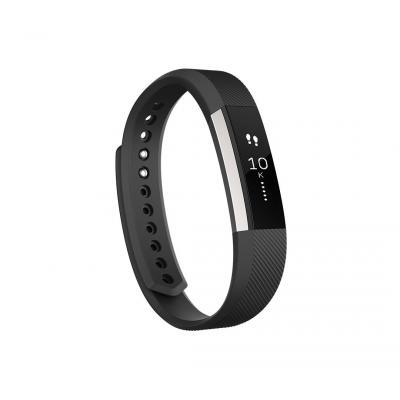 Fitbit wearable: Alta - Zwart, Roestvrijstaal