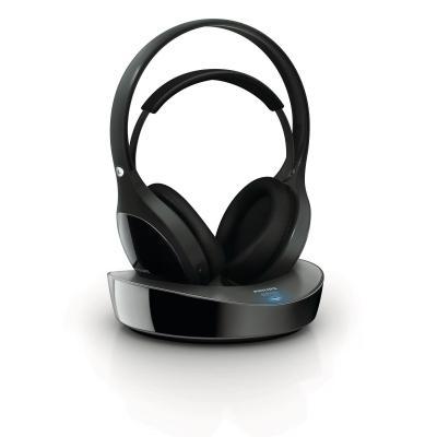 Philips koptelefoon: Draadloze HiFi-hoofdtelefoon SHD8600UG/10 - Zwart