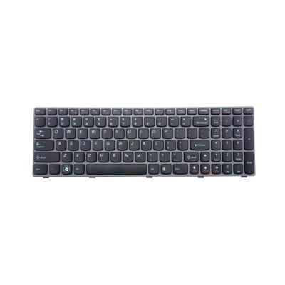 Lenovo notebook reserve-onderdeel: Keyboard for Notebook - Zwart, Grijs