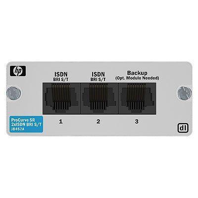 Hewlett packard enterprise netwerkbeheer apparaat: 2-port ISDN BRI S/T