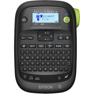 Epson LabelWorks LW-K400VP - QWERTY Labelprinter - Zwart,Groen,Grijs