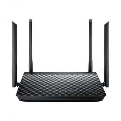Asus wireless router: RT-AC57U - Zwart