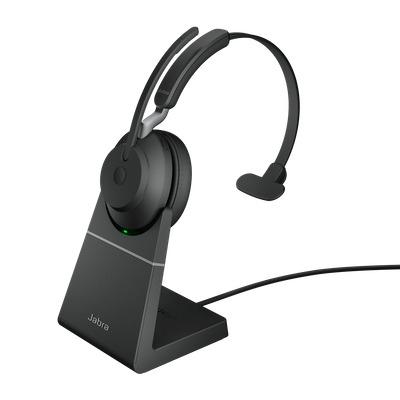 Jabra Evolve2 65, UC Mono, USB-A Headset - Zwart