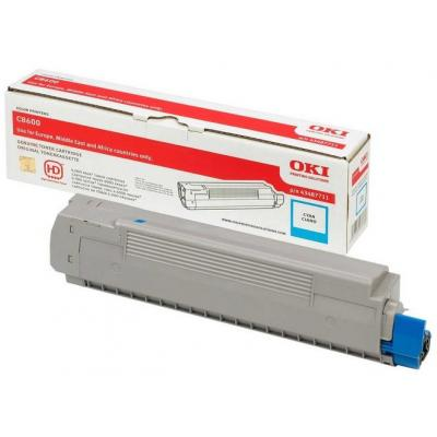 OKI cartridge: Cyan Toner Cartridge for C8600