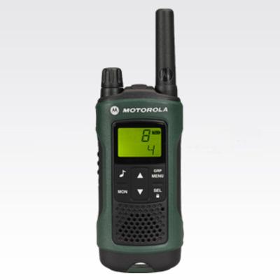Motorola walkie-talkie: TLKR T81 - Zwart, Groen