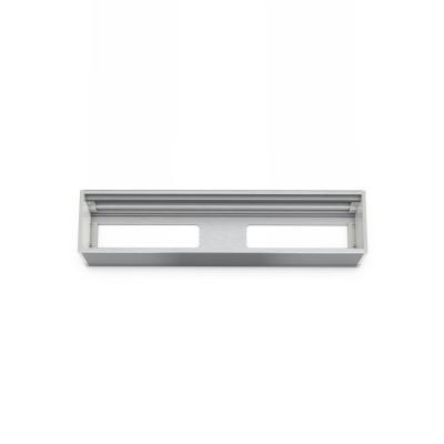 Kindermann Module Panel for 4 Plates, empty - Aluminium