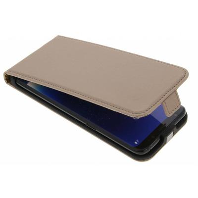 Luxe Hardcase Flipcase Samsung Galaxy S8 - Goud / Gold Mobile phone case
