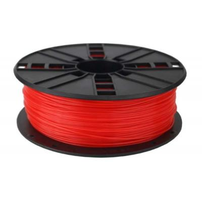 Gembird PLA Fluorescent Red, 1.75 mm, 1 kg 3D printing material