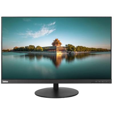 Lenovo monitor: ThinkVision P27Q - Zwart