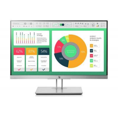 """HP EliteDisplay E223 21,5"""" FHD IPS Monitor - Zwart, Zilver"""