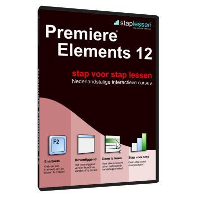 Shareart educatieve software: Staplessen, Adobe Premiere Elements 12  NL
