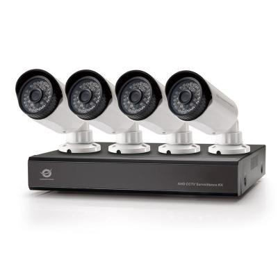 Conceptronic video toezicht kit: 4-Channel AHD CCTV Surveillance Kit