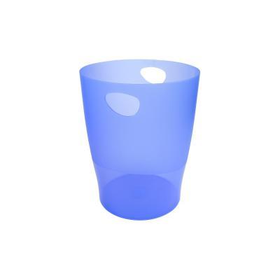 Exacompta papiermand Iderama ijsblauw Vuilnisbak