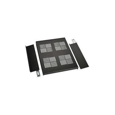 Black Box Elite Series Cabinet Sliding Server Shelf Rack toebehoren - Zwart