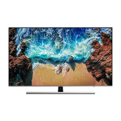 Samsung led-tv: NU8009 (2018) - Zwart, Zilver