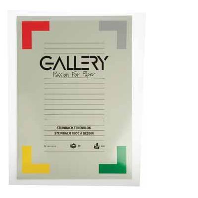 Gallery tekenpapier: BLOK STEINBACH 42X29,7 20BL.