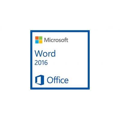 Microsoft tekstverwerker: Word 2016, 1u